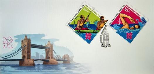London 2012 olimpiai bélyeg