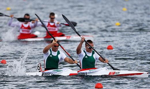London 2012 - olimpiai magyar kajak páros
