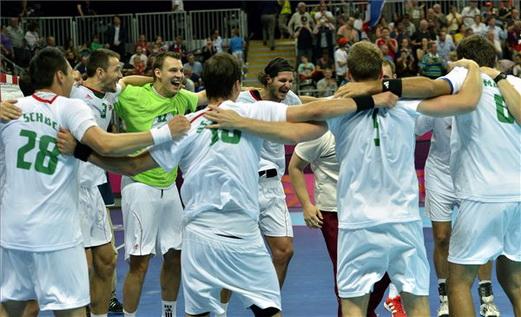 A győztes magyar kézilabda csapat az olimpián - london 2012
