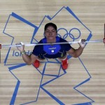 Bepisilt a gyakorlata alatt az ecuadori súlyemelőnő