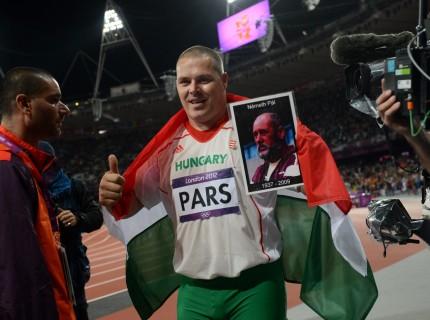 Pars Krisztián Olimpiai bajnok
